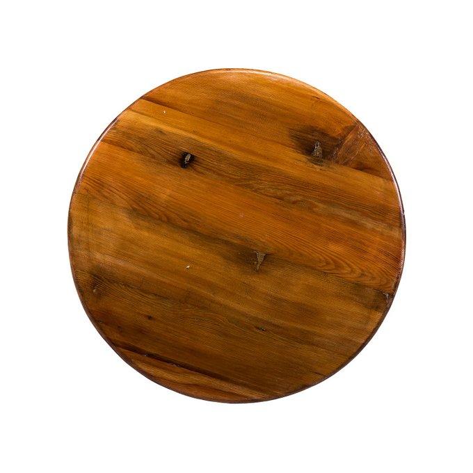 Барный стол Kaleido с деревянной столешницей