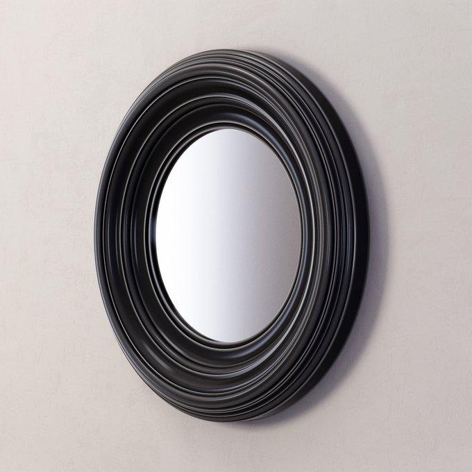 Зеркало Coventry в раме черного цвета