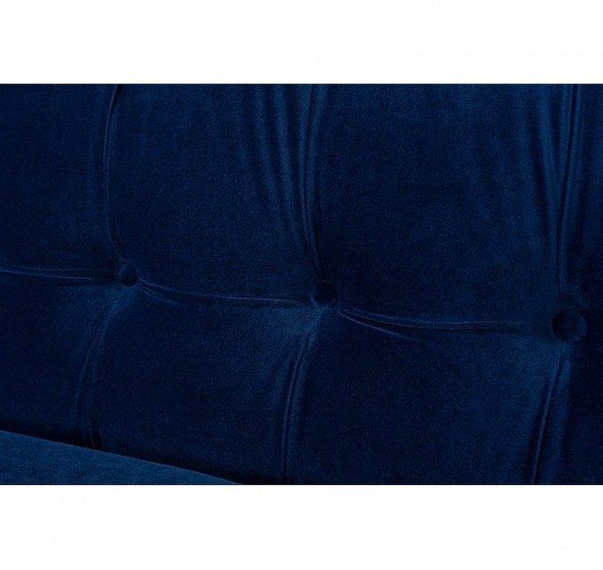 Диван трехместный Jack синего цвета