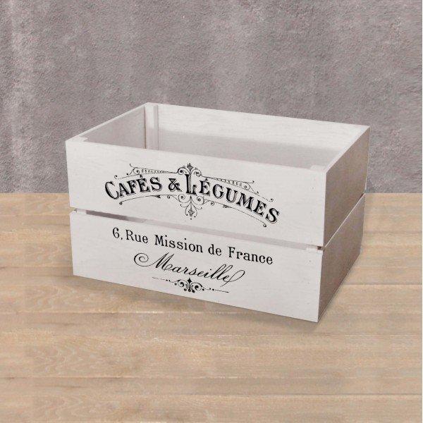 Ящик для хранения белого цвета