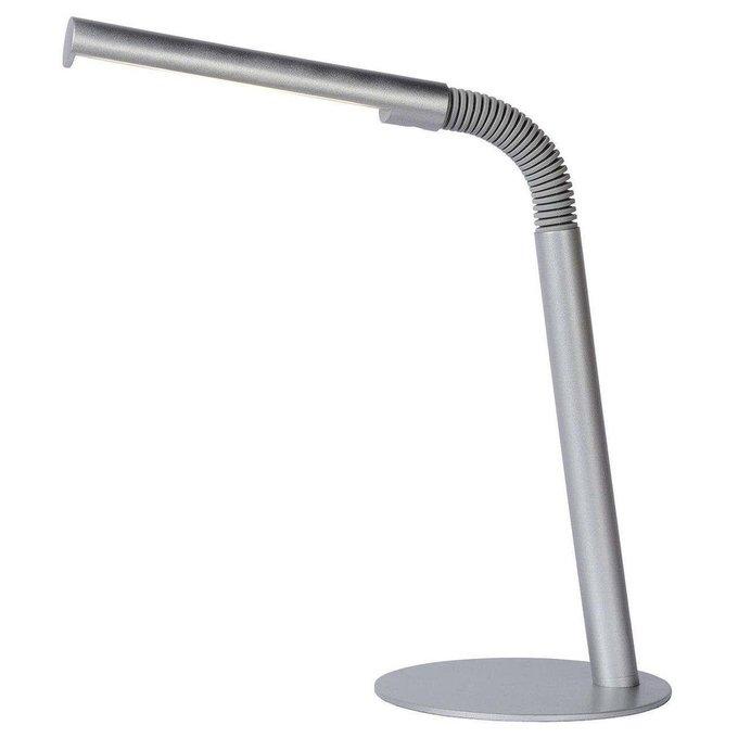 Настольная лампа Gilly серого цвета