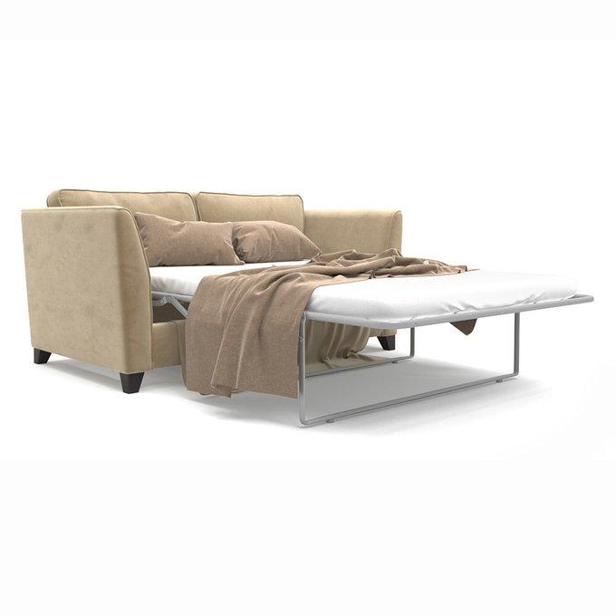 Двухместный раскладной диван Wolsly MT бежевого цвета