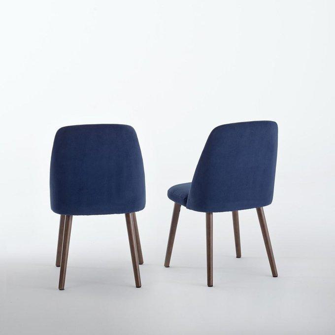 Комплект из двух стульев Watford синего цвета