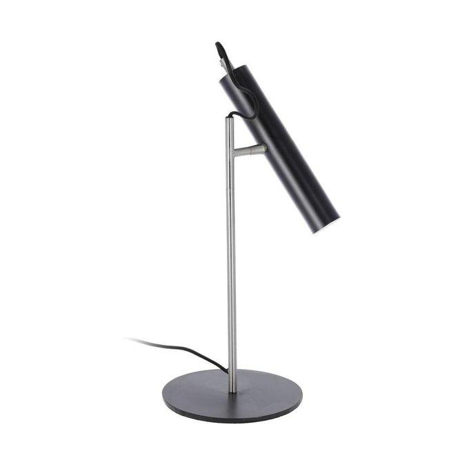 Настольная лампа Maude черного цвета
