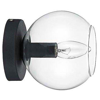 Накладной светильник с круглым абажуром
