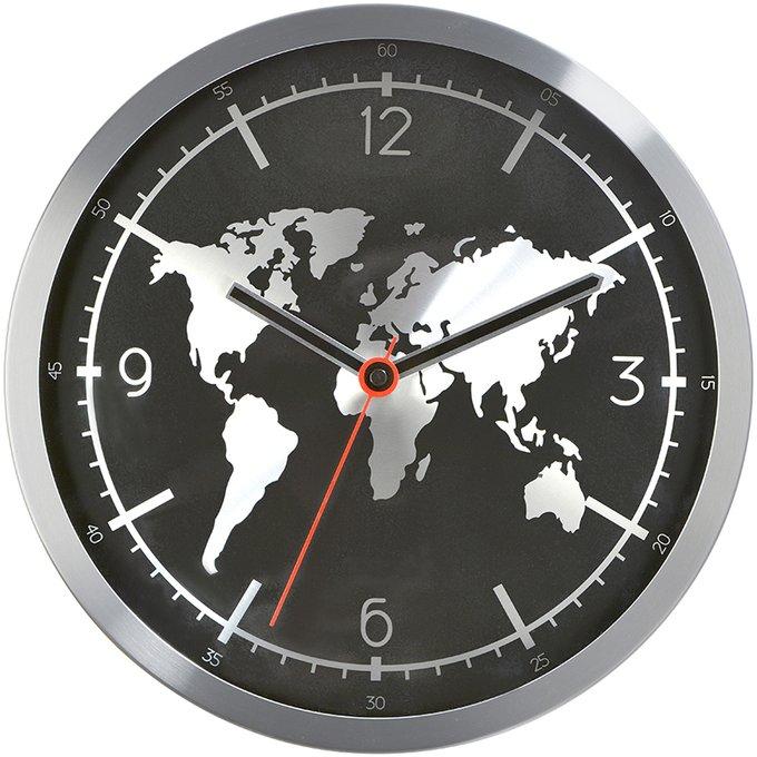Настенные часы Earth из металла
