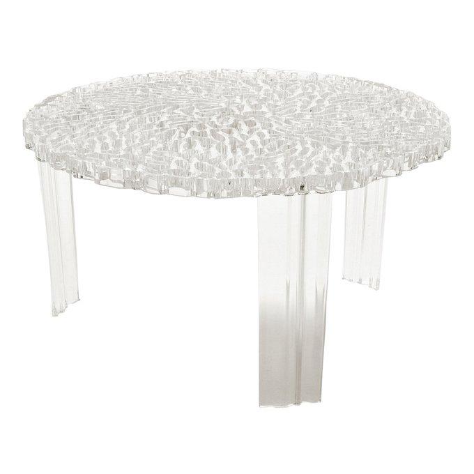 Столик журнальный T-Table прозрачный
