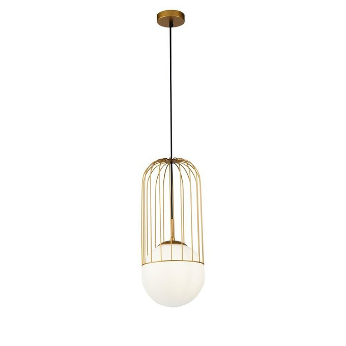 Подвесной светильник Telford из металла и стекла