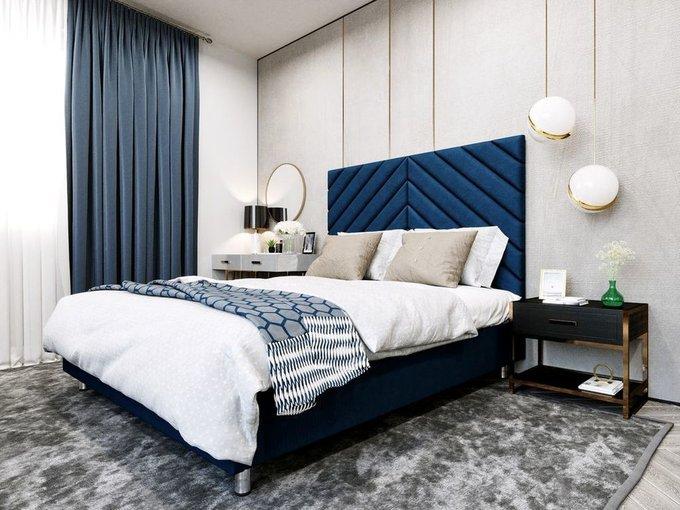 Кровать Мичиган 160х200 светло-бежевого цвета с подъемным механизмом