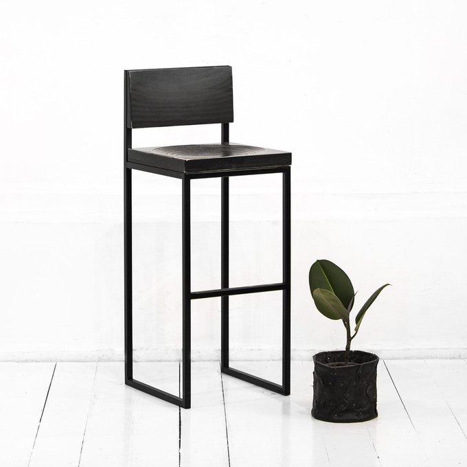 Барный стул Fullmoon в черном цвете