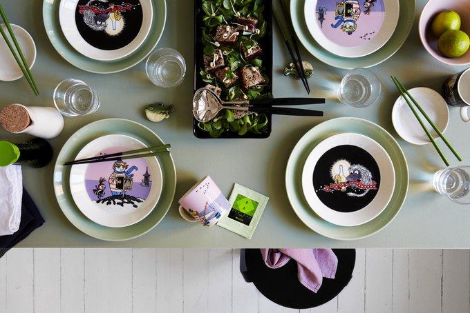 Кружка Туу-тикки лилового цвета