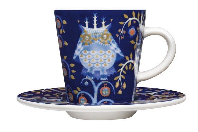 Чашка для кофе эспрессо Тaika темно-синего цвета