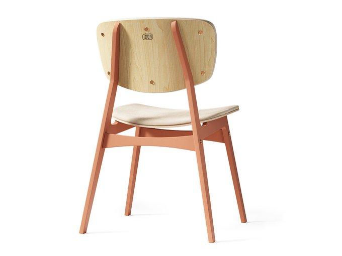Мягкий стул Sid светлая берёза / тоскана