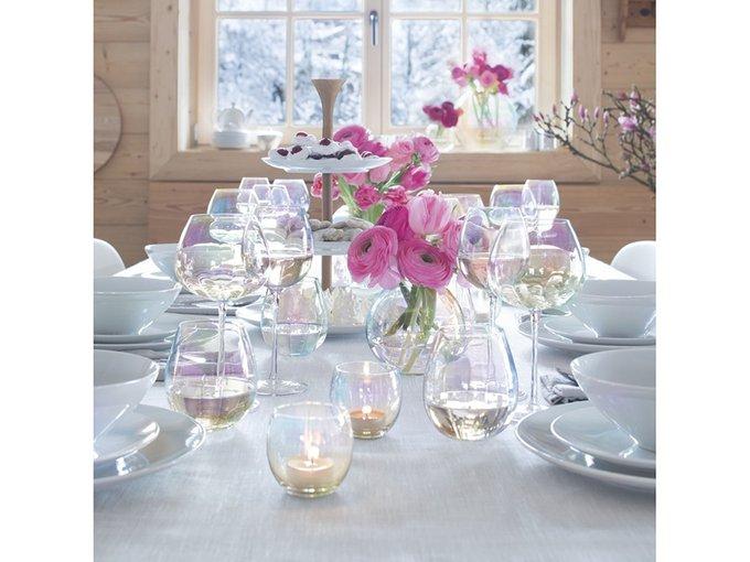 Набор из четырех подсвечников LSA Pearl для чайных свечей