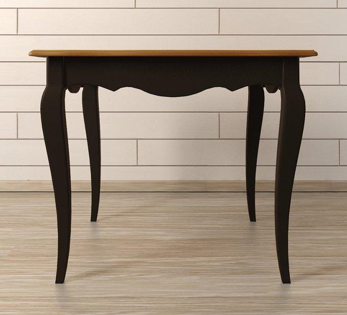 """Квадратный обеденный стол """"Leontina Black"""""""
