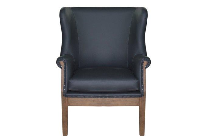 Кресло Nonno черного цвета