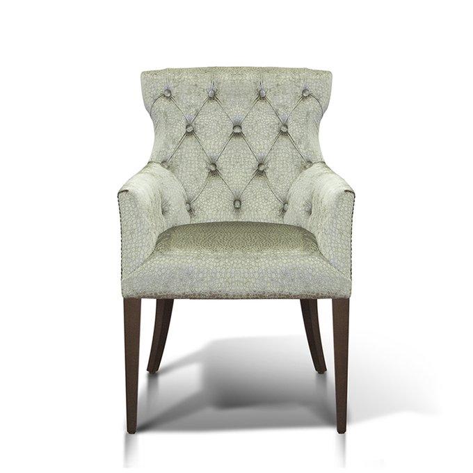 """кресло """"Byron"""" серо-зеленого цвета"""