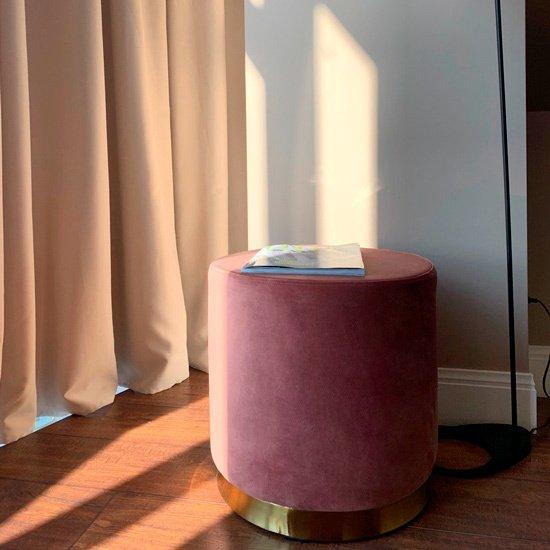 Пуф Maison тёмно-бирюзовогоо цвета