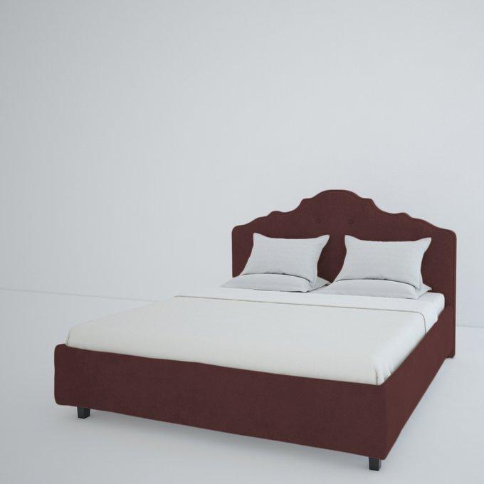 Кровать Palace Велюр Коричневый 200x200