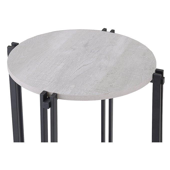 Столик кофейный Tauriello с белой столешницей
