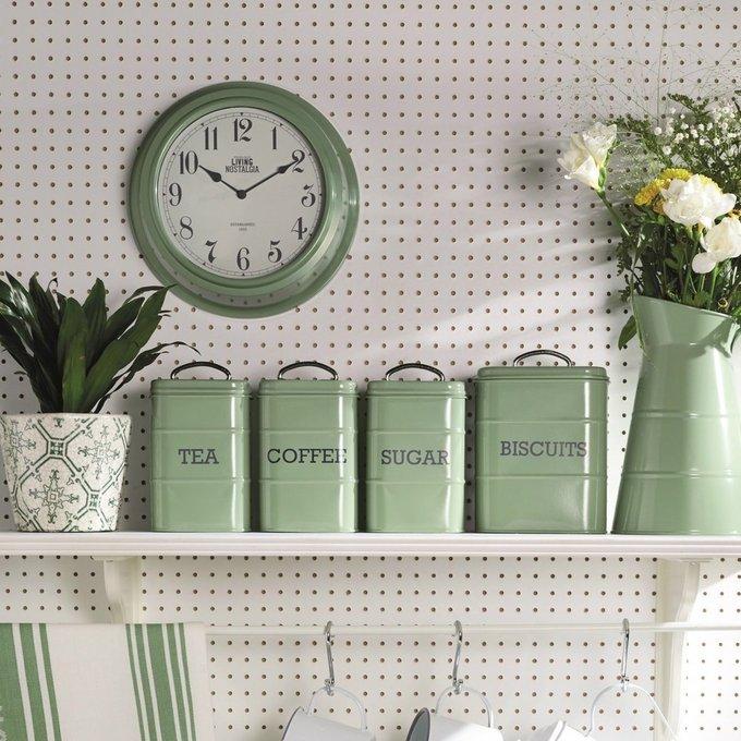 Ёмкость для хранения кофе Living Nostalgia green