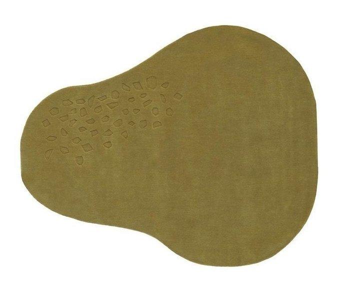 Ковер Earth оливкового цвета 60x170