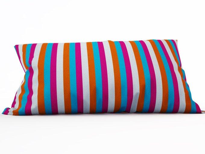 Декоративная подушка: Цветные полосы