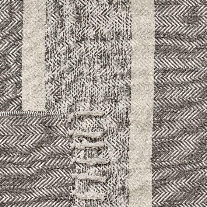 Плед Chemps серого цвета 130x170