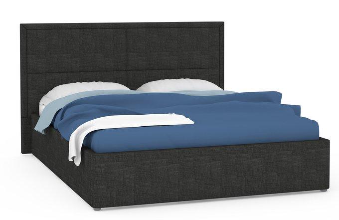 Кровать Прага черного цвета 160х200