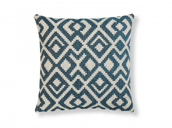 Чехол для подушки Malani из комбинированной ткани 45х45