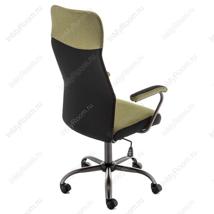 Компьютерное кресло Aven зелено-черного цвета