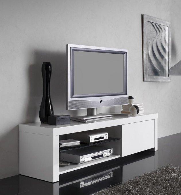 Тумба TV Dupen белого цвета