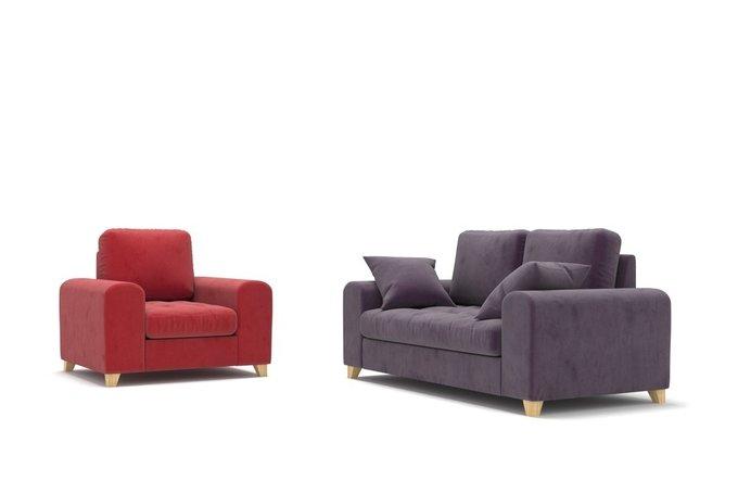Кресло Vittorio MT красное