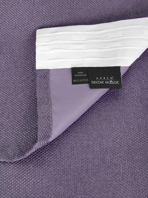 Штора Violet 170х270 фиолетового цвета