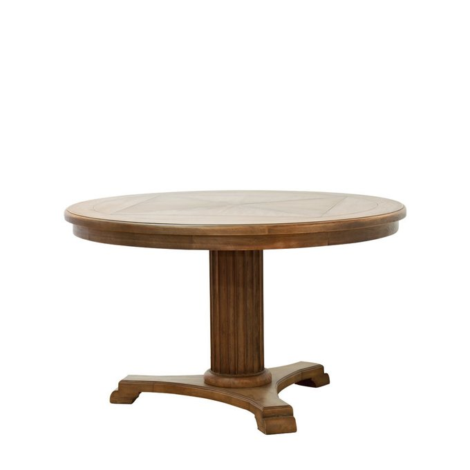 Обеденный стол Lardy из натурального дерева