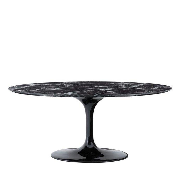 Обеденный стол Solo черного цвета