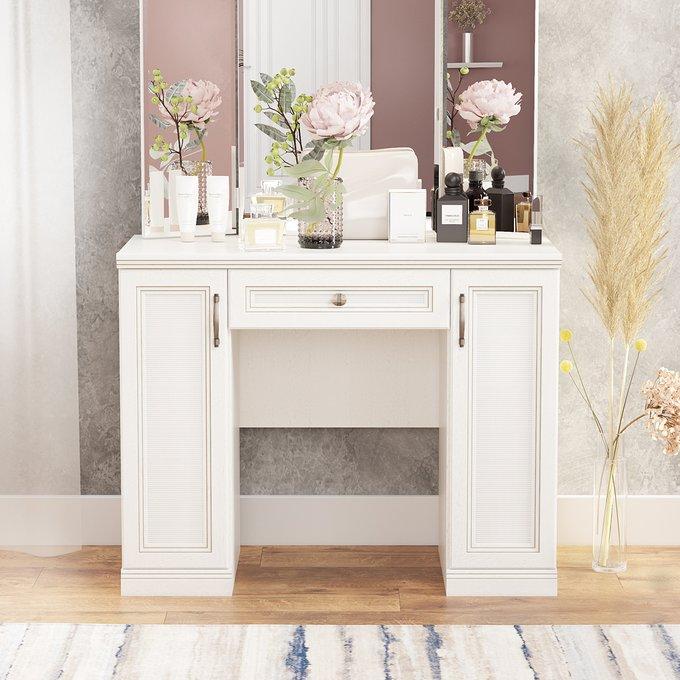 Туалетный столик Белладжио белого цвета
