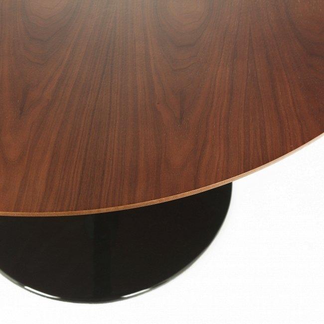 Овальный обеденный стол Tulip со столешницей из американского ореха