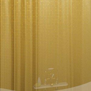 Занавеска (штора) из ткани для ванной комнаты