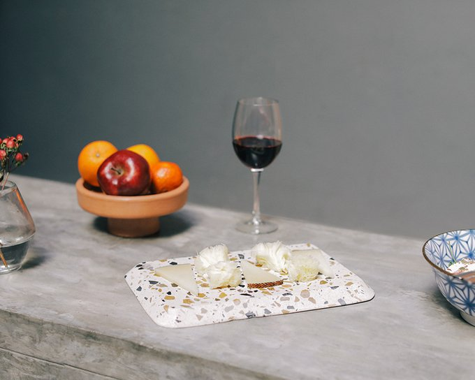 Доска для сыра Doiy terrazzo