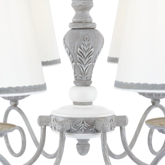 Подвесная люстра Bouquet с основанием серого цвета