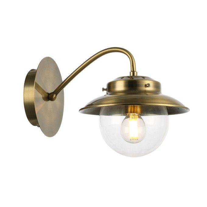 Светильник настенный Garonni с прозрачным плафоном