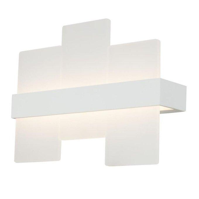 Настенный светодиодный светильник Mix белого цвета