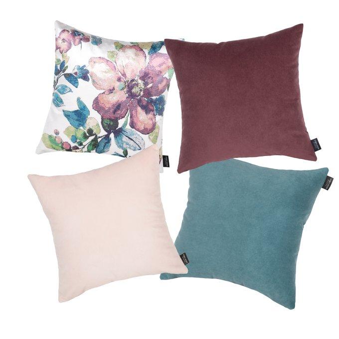 Набор из четырех чехлов Novelle Aquarel с внутренними подушками