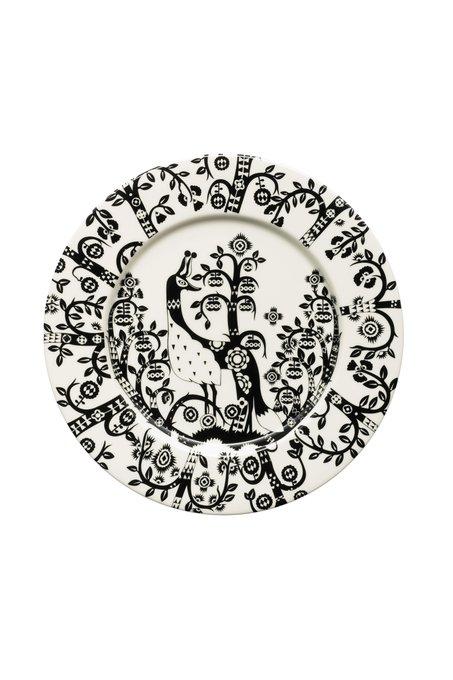 Тарелка Taika черно-белого цвета