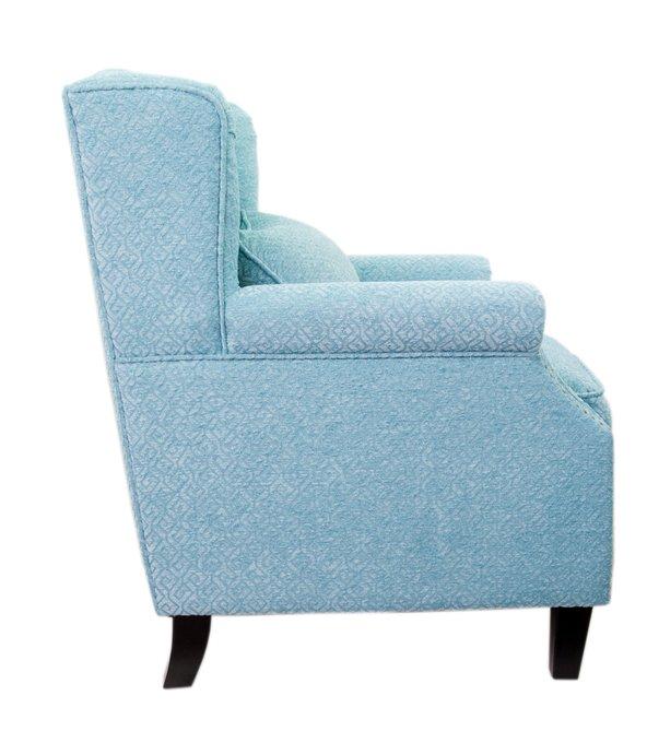 Кресло Scott blue голубого цвета