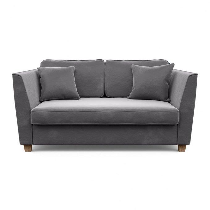 Двухместный диван Уолтер М серого цвета