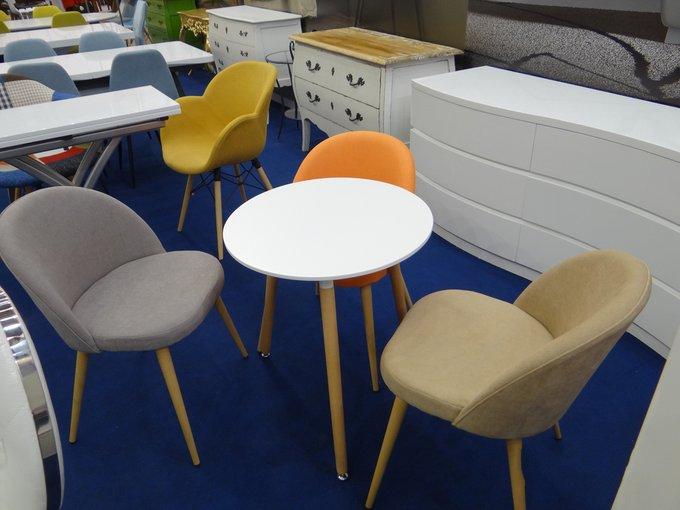 Набор из шести кофейных стульев Томас с мягким сидением