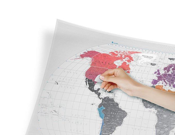 Карта travel map air world