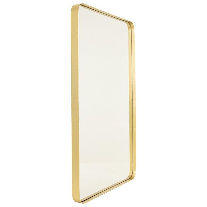 Зеркало настенное Брюгге золотого цвета